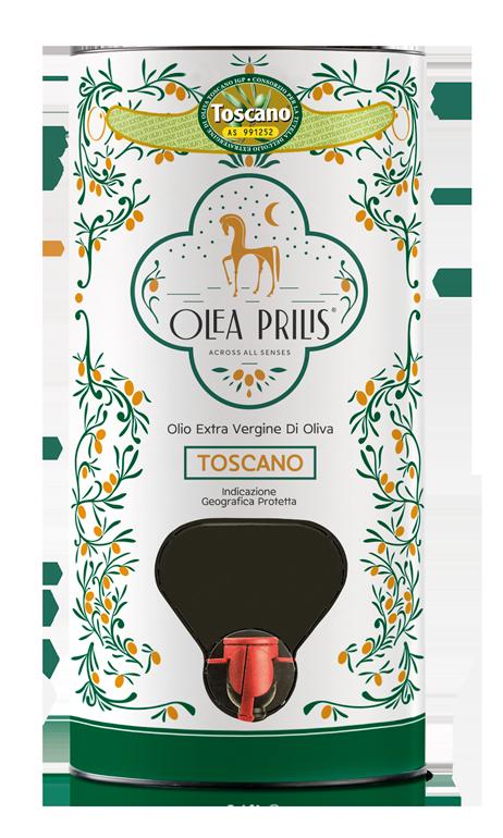 IGP Toscano Organic EVOO In Bag in Tube 1x3 lt.